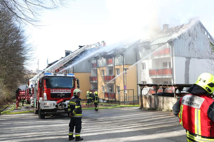 B4 Wohnungsbrand
