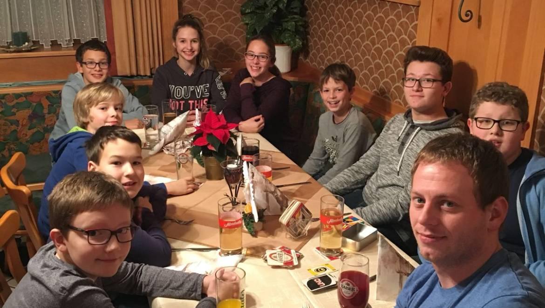 Weihnachtsfeier der Freiwilligen Feuerwehr Vestenthal