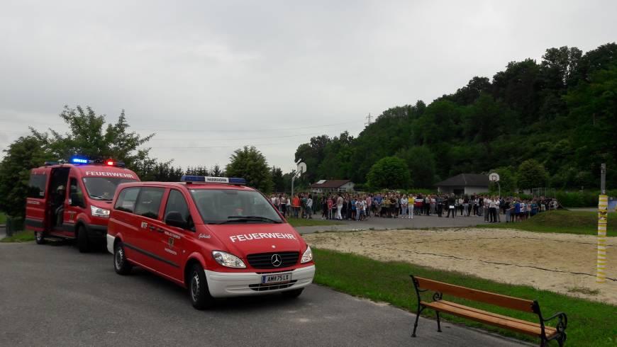 Einsatzübung NMS Haidershofen