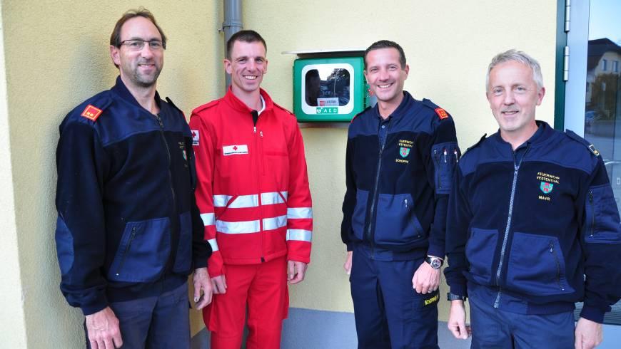 Ankauf eines Defibrillators